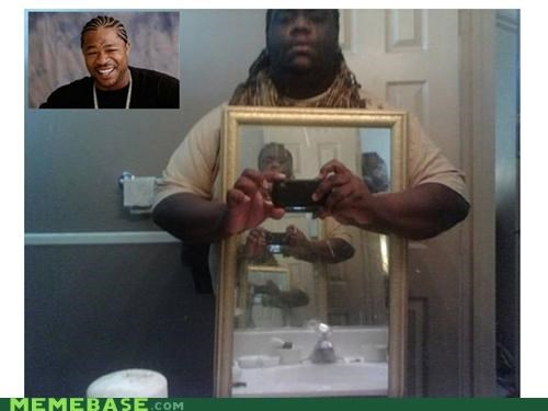 infinity,mirror,phone,pic,yo dawg