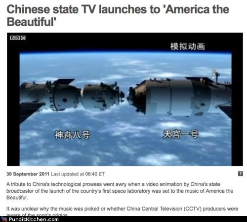 america,China,political pictures,space