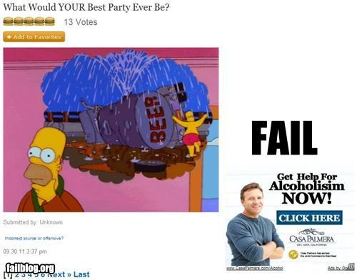 FailBlog Ad Placement FAIL A FailBlog Fail!