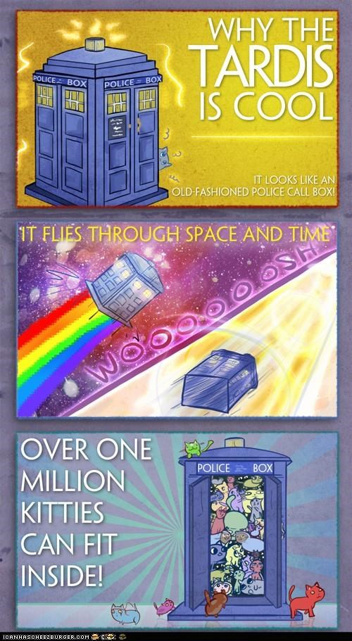 awesome best of the week comic comics doctor who drawings lots of cats million original size tardis - 5269436416