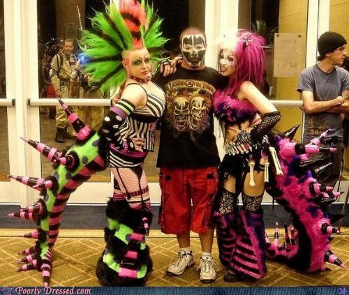 cybergoth,ICP,juggalo,tails
