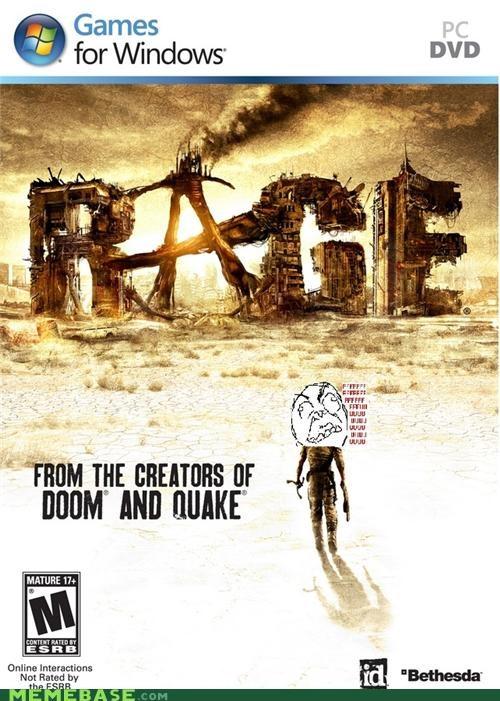 burn doom hard quake rage Rage Comics steve jobs video games windows - 5269560576