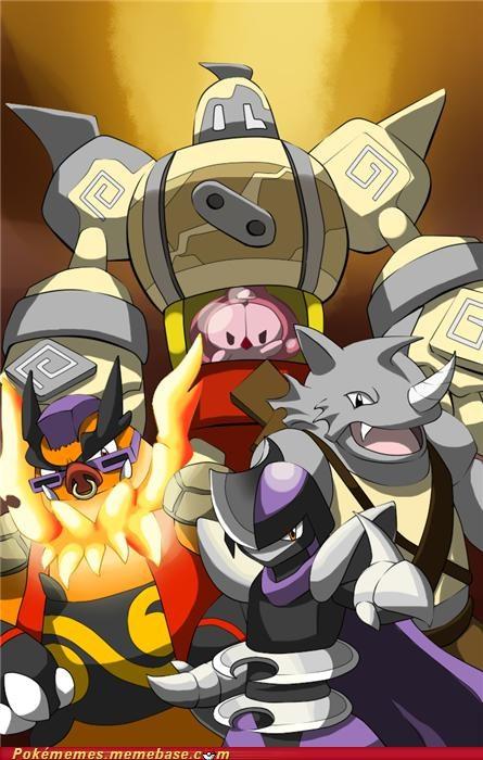bebop crossover emboar Krang rhydon rocksteady shredder TMNT - 5269599488