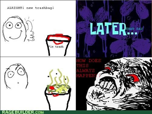 garbage Rage Comics smelly trash - 5269714944