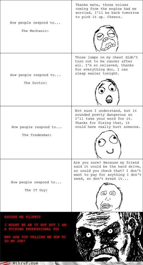 it,it support,rage comic,second-guessing,support
