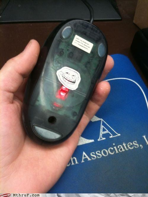 broken mouse office prank prank troll face u mad - 5269790464