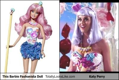 Barbie doll katy perry pop singers toy
