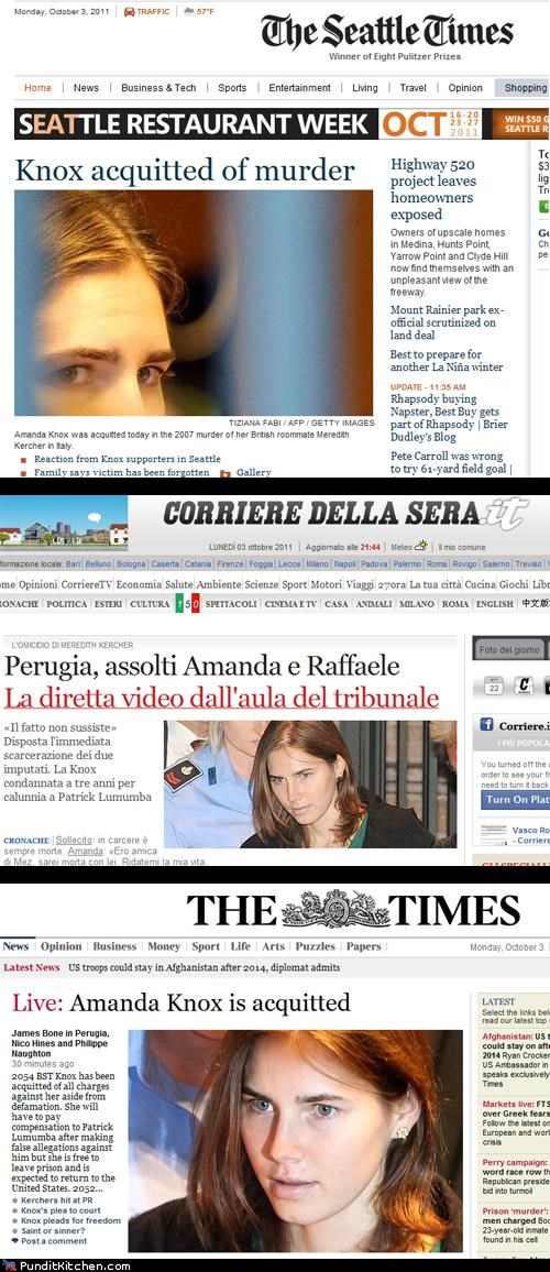 Amanda Knox america crime england Italy political pictures - 5269919488
