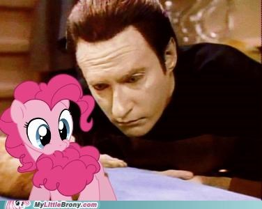 creature data illogical pinkie pie Star Trek TV