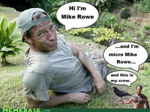 crow,micro,mike row,puns,sounds,yo dawg