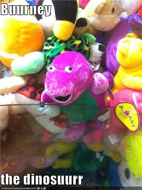 barney the dinosaur,dinosaur,i love you,miniderp,toy,you love me