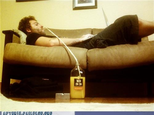 award,booze,couch,drinking,genius,straw