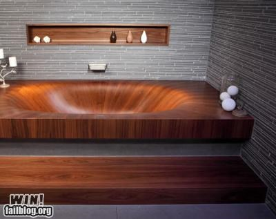 bath bathroom bathtub design pretty wood - 5270315776