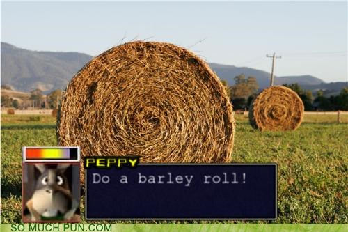 barley,barrel roll,Command,How To,peppy,roll,Star Fox,star fox 64