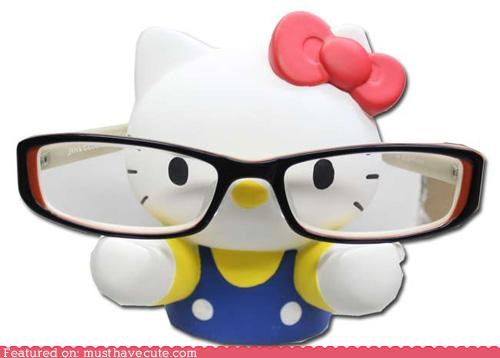 best of the week cute glasses hello kitty hipster Sanrio stand - 5270709760