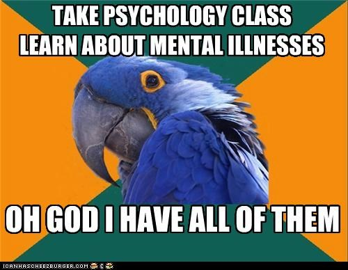 diseases free illness Paranoid Parrot psychology - 5270910976