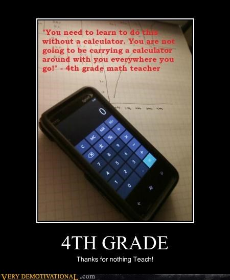 4th grade calculator Hall of Fame hilarious math - 5270914816