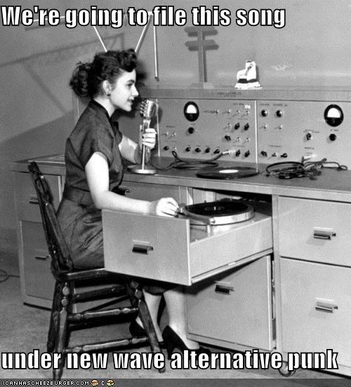 alternative historic lols Music new wave punk radio this music sucks vintage - 5271091712