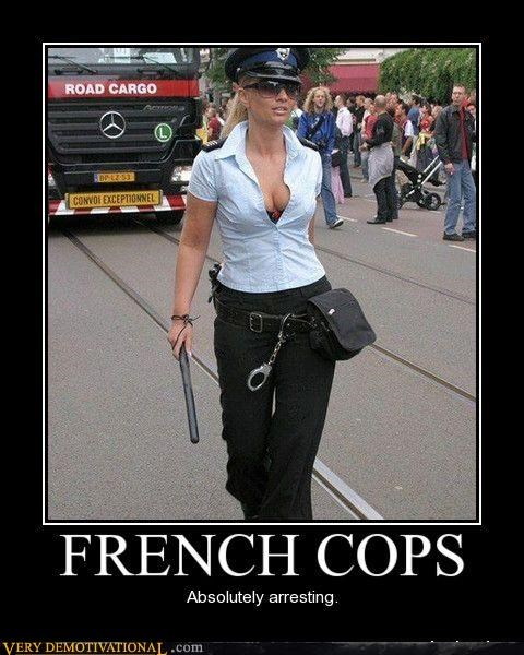 cops france hilarious