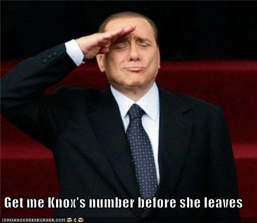 Amanda Knox political pictures silvio berlusconi - 5272412672