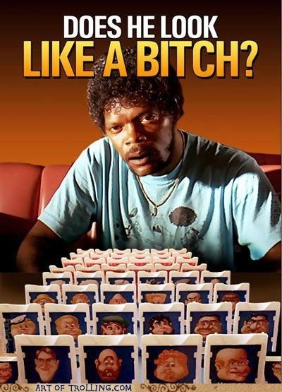 best of week guess who pulp fiction Samuel L Jackson - 5272858624