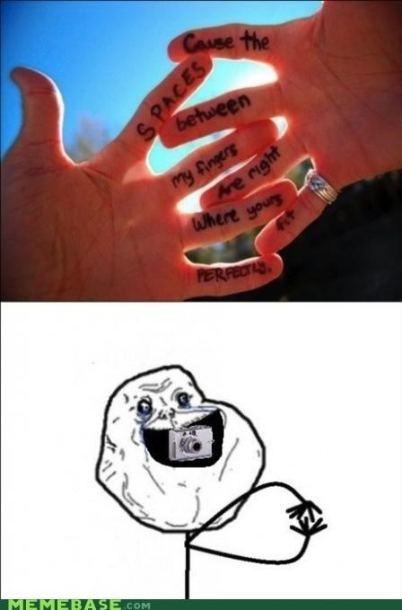 fingers forever alone perfectly picture Sad - 5273225984