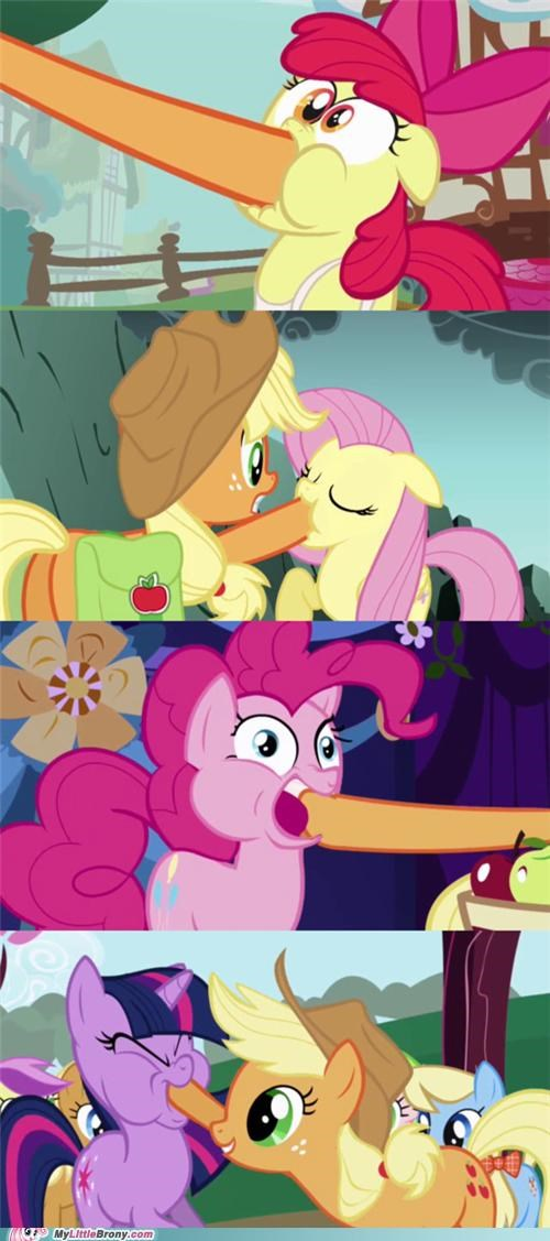 applejack apples facehoof force feed ponies - 5273232128