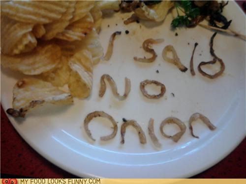 funny food photos onion restaurants