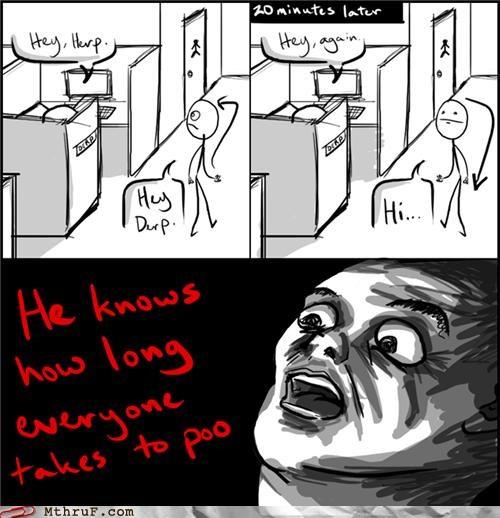 cubicle knowledge location poop - 5273451520