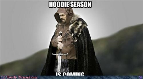 Game of Thrones Hoodie Season is Coming Winter Is Coming winter weird