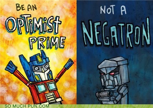 advice classic Hall of Fame megatron negative optimist optimus prime similar sounding transformers - 5273577216