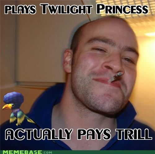 Good Guy Greg money trill twilight princess video games zelda - 5273695232