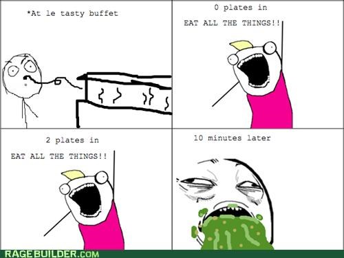 barf,buffet,Rage Comics,sweet jesus have mercy