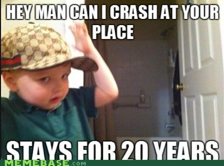 crash,hat,kid,Memes,place,years