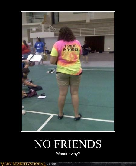 friends,hilarious,pee,pools,T.Shirt
