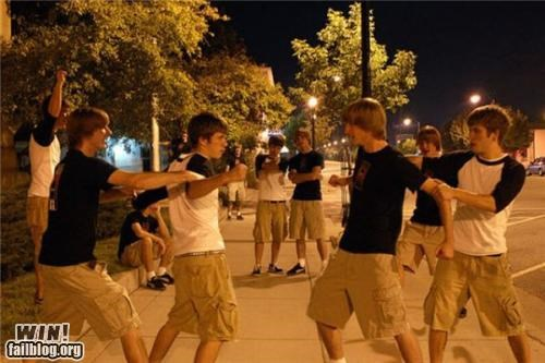 clone,fight,illusion,night,photography,photoshop,photoshopped,trick