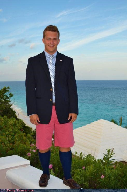 beach,bro,pink,shorts,socks,yuppie
