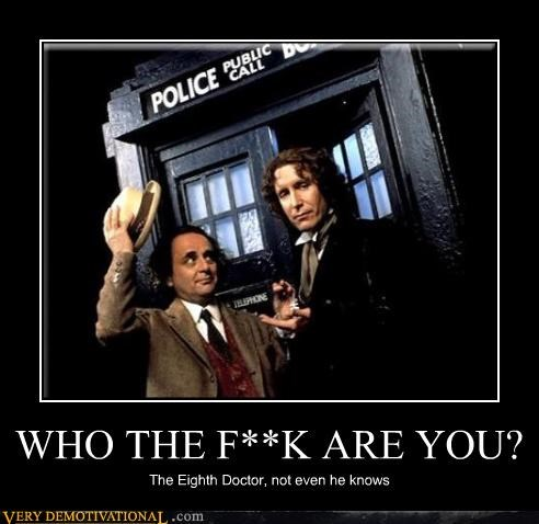 8th doctor doctor who hilarious wtf - 5274415872