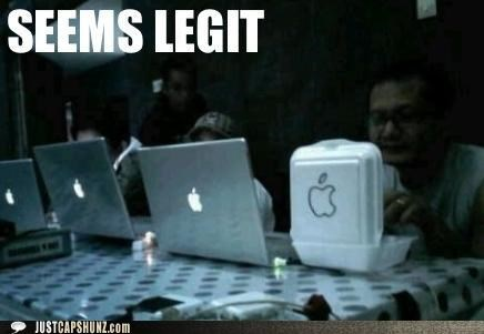 apple,computers,laptops,mac,seems legit,styrofoam,wtf