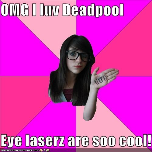 best of week,cyclops,deadpool,eye lasers,ignorant,Super-Lols