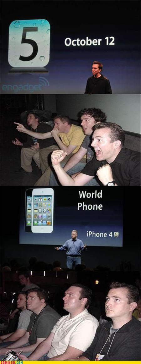 dead silence,iphone 4,reaction guys,world phone