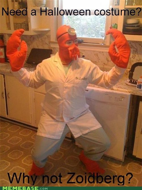costume,fry,halloween,idea,IRL,Zoidberg