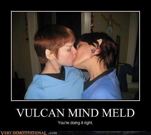mind meld Pure Awesome Sexy Ladies Star Trek Vulcan - 5274838528