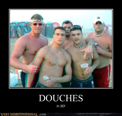 DOUCHES in 3D!