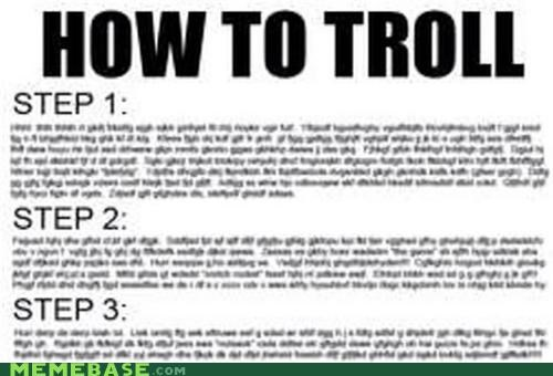 blurry,How To,how to troll