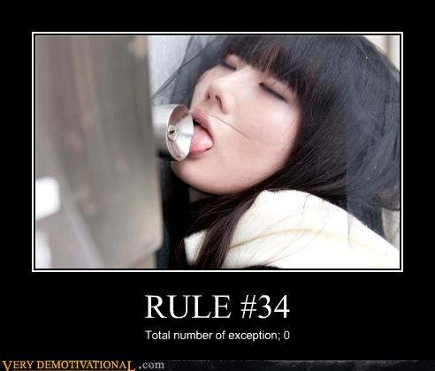 RULE #34 Total number of exception; 0