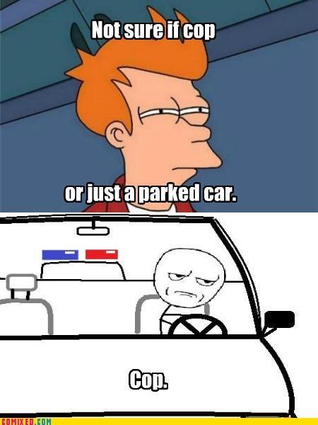 cop fry meme not sure the internets - 5275403776
