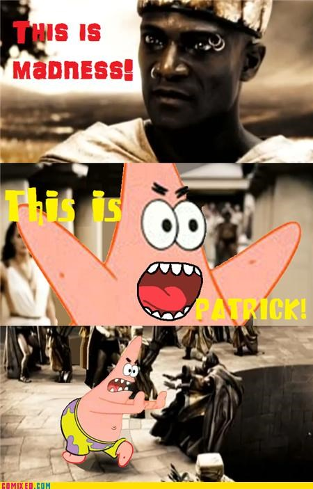 300 best of week meme patrick SpongeBob SquarePants the internets this is sparta - 5276062720