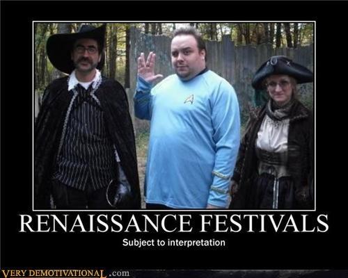 hilarious nerds renaissance festival Star Trek - 5276335360
