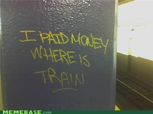 IRL money paid train - 5276375040